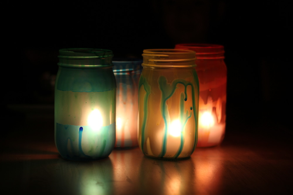 Diy Mod Podge Lanterns Allfreekidscrafts Com