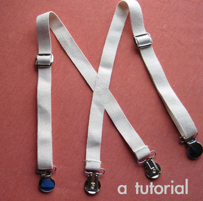 DIY Dandy Suspenders
