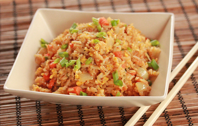 Our Version of Benihana Fried Rice