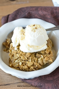 Amish Apple Crisp