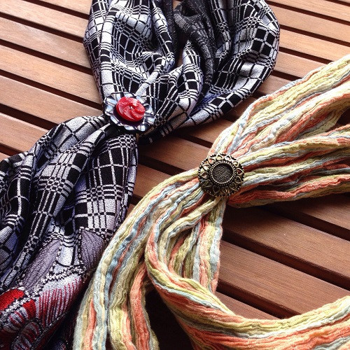how to make a scarf ring allfreejewelrymaking