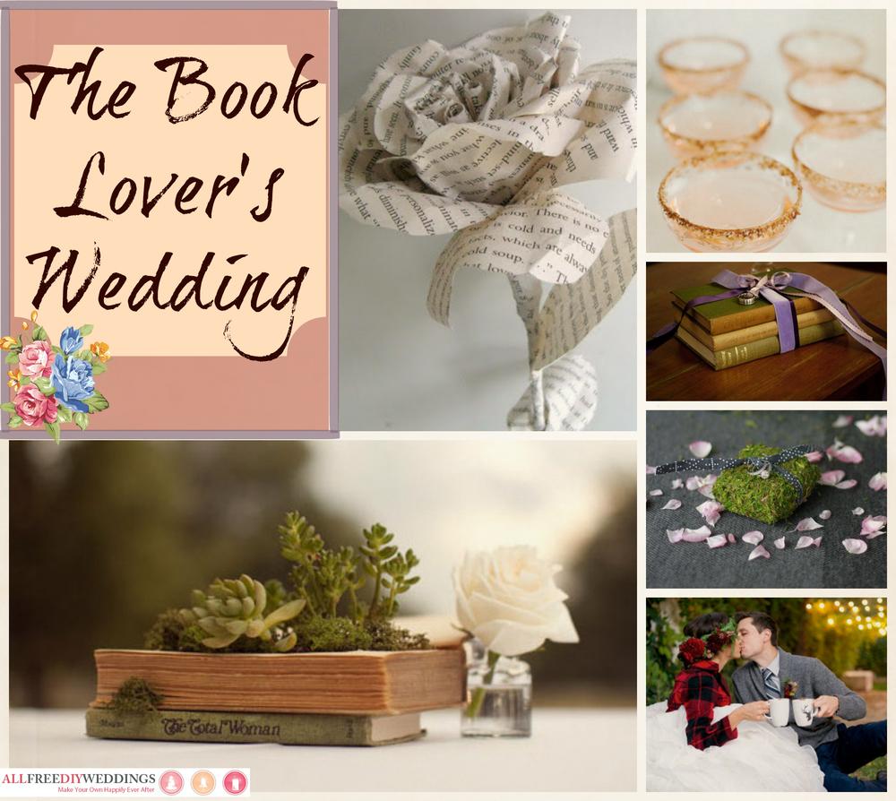 wedding themes: book lover's wedding | allfreediyweddings