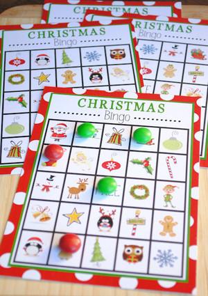 photograph relating to Printable Christmas Bingo Game named No cost Printable Xmas Bingo Video game