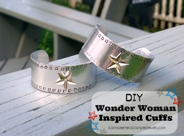 Silver Superhero Cuffs