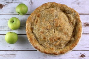 Texas-Sized Apple Pie