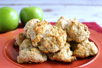 Simple Apple Drop Biscuits
