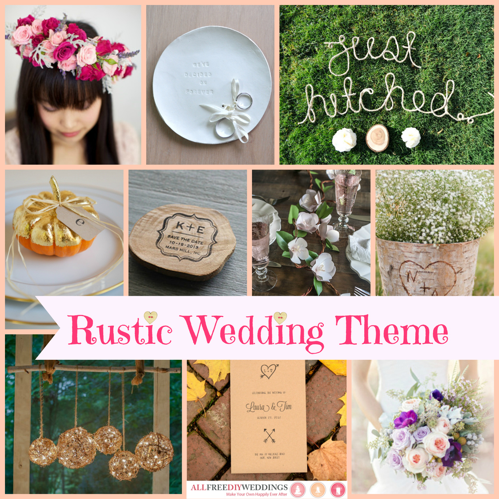 Free Wedding Ideas: Wedding Themes: Rustic Wedding