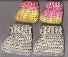 Little Pillow Booties