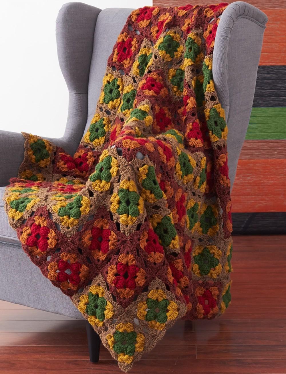Autumn S Calling Crochet Afghan