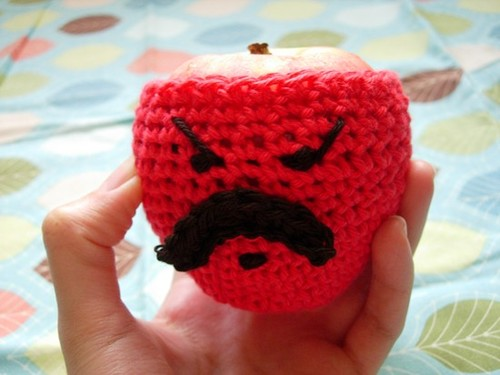 Angry Apple Cozy
