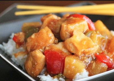 5-Hour Slow Cooker Sweet and Sour Chicken