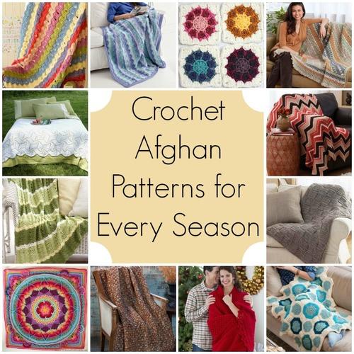 61 Crochet Afghan Patterns For Every Season