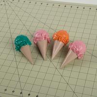 Duck Tape Ice Cream Cones Step 9