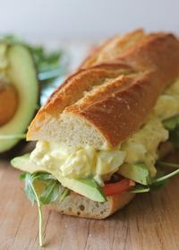 Lightened-up Egg Salad Sandwich