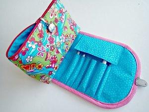 Diy Makeup Bag For Brushes Allfreesewing Com