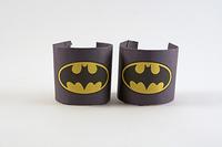DIY Batman Wrist Cuffs