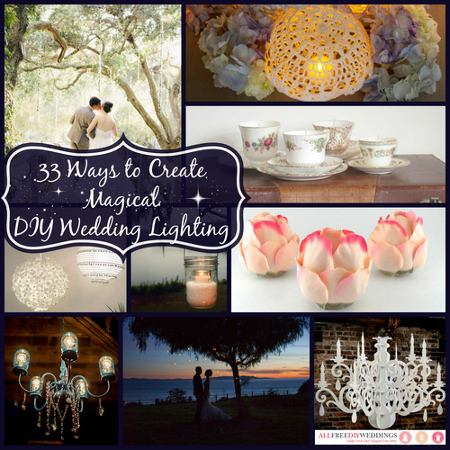 33 Ways to Create Magical DIY Wedding Lighting