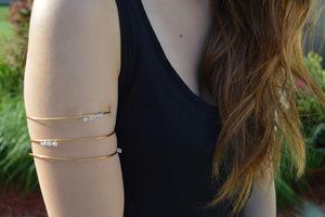 Gorgeous Gilded Arm Cuff