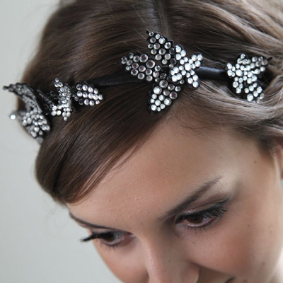 Dazzling Diamond Headpiece
