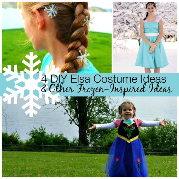 Halloween Costume Ideas  sc 1 st  AllFreeSewing & 4 DIY Elsa Costume Ideas u0026 7 Other Frozen-Inspired Ideas ...