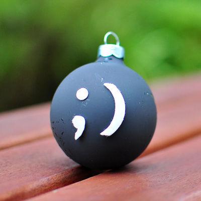 Unbelievably Easy Emoticon Ornament