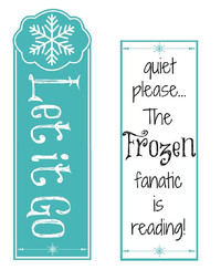 Frozen Fanatic Free Printable Bookmarks
