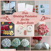 99 Free Wedding Printables for the Budget Bride.