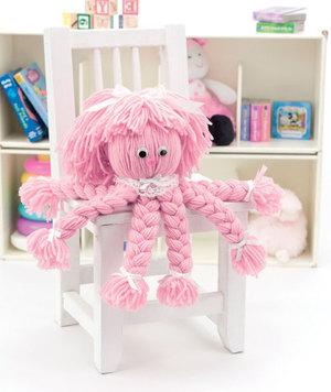 Super-Easy Yarn Octopus