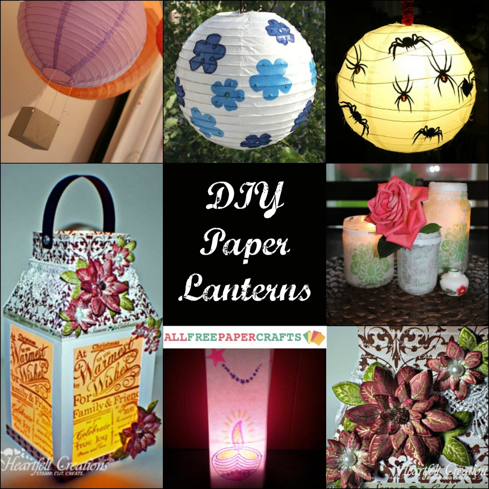 paper lanterns craft ideas how to make a paper lantern 11 diy paper lanterns 5099