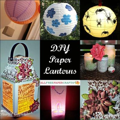 How To Make A Paper Lantern 11 Diy Paper Lanterns