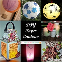 How to Make a Paper Lantern: 11 DIY Paper Lanterns