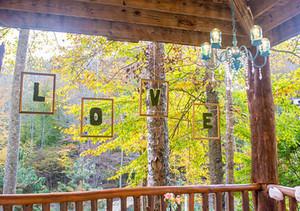 Woodland Wonderland Floating Moss Letters