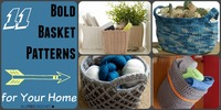 11 Crochet Basket Patterns for Your Home
