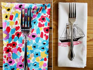 Eclectic Free Napkin Pattern