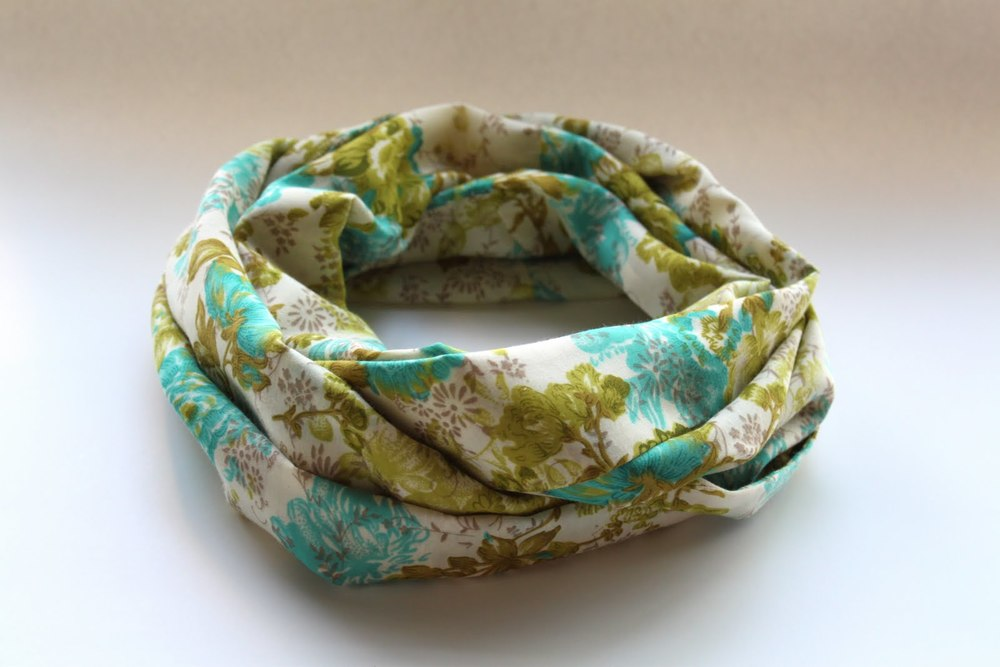 Lightweight Infinity Scarf Allfreesewing Com