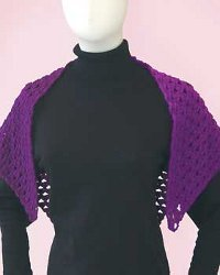 Purple Sport Shawl