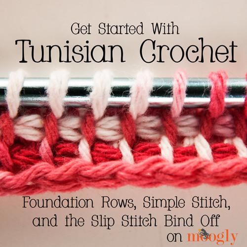 Tunisian Crochet Tutorial Allfreecrochetcom