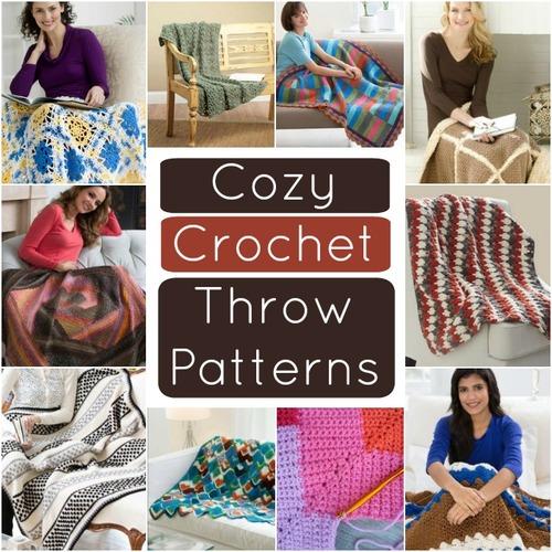 36 Cozy Crochet Throw Patterns