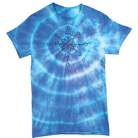 Wintry Tie Dye T-Shirt