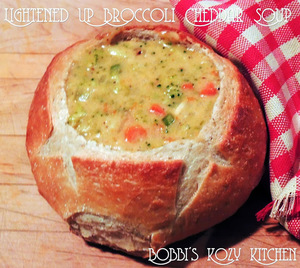 Panera-Inspired Broccoli Cheddar Soup