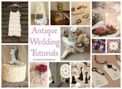 Wedding Themes: Antique Wedding