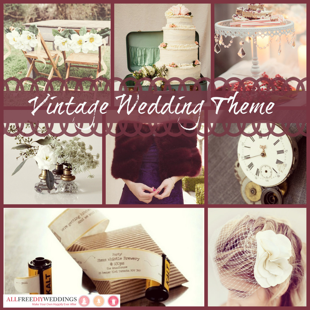 Free Wedding Ideas: Wedding Themes: Vintage Wedding