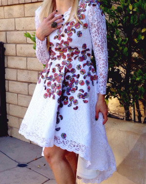 DIY Gorgeous Giambattista Valli-Inspired Dress