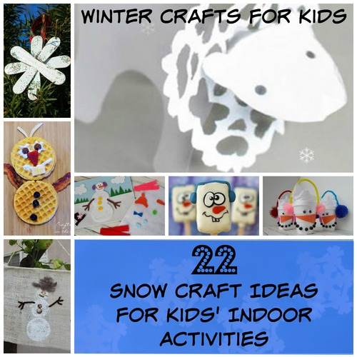 Winter Crafts For Kids 22 Snow Craft Ideas For Kids Indoor