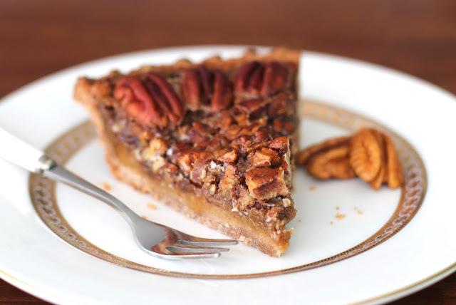 Maple Pecan Pie   FaveHealthyRecipes.com