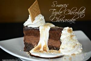 Swell Homemade Cheesecake Factory Smores Triple Chocolate Cheesecake Personalised Birthday Cards Beptaeletsinfo