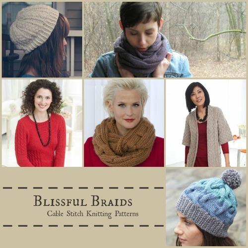 Blissful Braids: 18 Cable Stitch Knitting Patterns