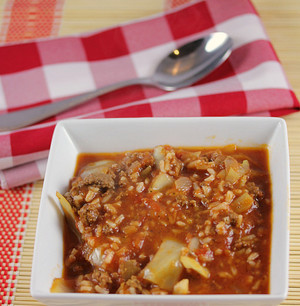 All Day Cabbage Roll Soup