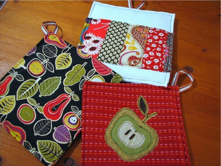 Dishtowel Potholder Tutorial Allfreesewing Com
