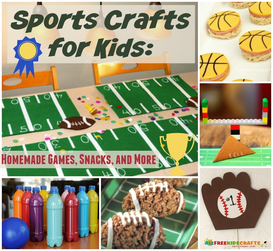 23 Sports Crafts For Kids: Homemade Games And Other Sports
